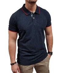 dba0e154e75e Jack Jones - 12145111 - Jprroger Blu. SS Polo - Navy Blazer - Slim Fit -
