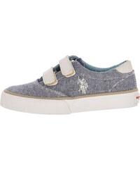 02f14ca7d12 Παιδικά Παπούτσια Casual Top.Boston Άσπρο Πάνινο U.S. Polo Assn.