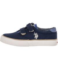 f97203b9a622 Παιδικά Παπούτσια Casual Top Σκούρο Μπλε Πάνινο U.S. Polo Assn.