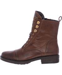 e74329a6d07 Καφέ Γυναικείες μπότες και μποτάκια αστραγάλου από δέρμα | 530 ...