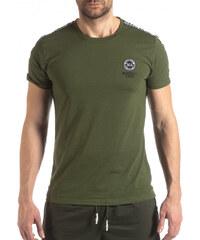 7b2d4be04a02 Marshall Ανδρική πράσινη κοντομάνικη μπλούζα με λογότυπο