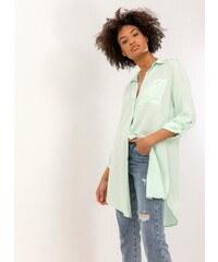 118c898ef89a The Fashion Project Μακριά πουκαμίσα με κουμπιά σε άνετη γραμμή - Βεραμάν -  07125017001