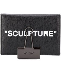 57a7e8b1de Off-White sculpture card case - Black