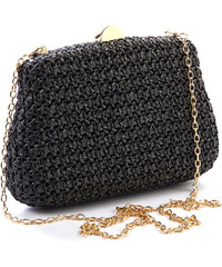 531aa830c1 Βραδινό τσαντάκι clutch Verde 01-1215-Μαύρο 01-1215-Μαύρο