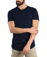 b3a8be68556a Ανδρικό μπλε t-shirt Brothers μονόχρωμο 19002Q