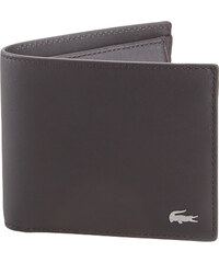 93a84174a2 Ανδρικά Δερμάτινα Πορτοφόλια Lacoste NH1112FG 028 Dark Brown M billfold coin  cow leather