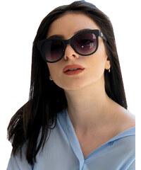 24e62468e0 Huxley   Grace Γυναικείο μαύρα ματ γυαλιά ηλίου πεταλούδα Luxury S1722G