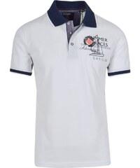 debb253022b3 mygolf Ανδρικό Πόλο Μπλουζάκι σε Λευκό Χρώμα BLK224
