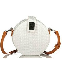 21954d4be5 Axel Emmy round crossbody bag 1020-0293 white