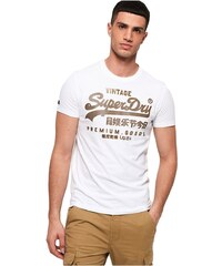 405f306d12fd Superdry Ανδρικό T-Shirt Vintage Logo Authentic Mid Weight Tee Λευκό