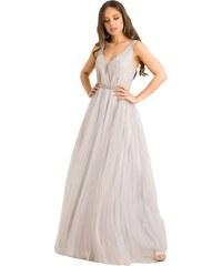 f751e8998fc8 DeCoro F9228 Φόρεμα με Glitter και Τούλι - ΓΚΡΙ - 12