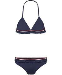 6c56ef4ceb Tommy Hilfiger Παιδικό Μαγιό Κορίτσι Bikini Set Signature Ruffle Navy