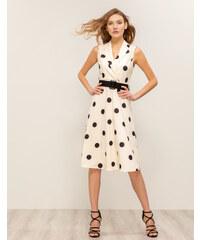 16d11ab0c197 Issue Fashion Midi φόρεμα πουά
