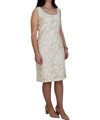 772ef7e6d12f Φόρεμα Από Δαντέλα Baziana 906-19 Εκρού baziana 906-19 ekroy