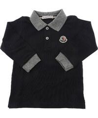 4dc2e1f253b Moncler Βρεφικά Μπλουζάκια Polo για Αγόρια Σε Έκπτωση Στο Outlet, Μπλε,  Κοτόν, 2019