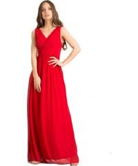 787fed1548f0 DeCoro F6040 Φόρεμα Κρουαζέ με Ενίσχυση - ΚΟΚΚΙΝΟ - 12