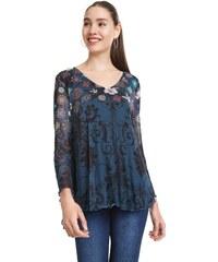 449767d77053 Women Desigual Bruce T-shirt Blue