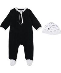 06f30a7f03c Karl Lagerfeld Kids tie print romper - Black