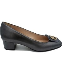 fe4f6b3ceb4 Anastasia shoes Γόβα δέρμα με χρυσό διακοσμήτικό