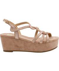 fc8bfadc5b EXE Shoes Γυναικεία Πέδιλα Πλατφόρμες ROSA-619 Nude G47006917004 exe ...