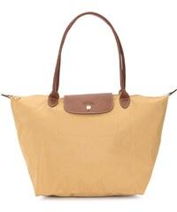 2aa3937dab Longchamp logo embossed shoulder bag - Gold