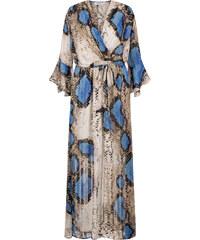 80503df0eea6 Celestino Φόρεμα με μεταλλιζέ λεπτομέρειες σε όψη φιδιού - Limited Edition  SE8469.8002+2