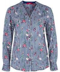 6f8855494587 S.OLIVER Γυναικείο πολύχρωμο ριγέ πουκάμισο μάο