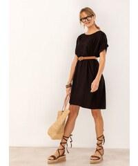 367c5d847e38 The Fashion Project Oversize φόρεμα με τσέπες - Μαύρο - 07459002001