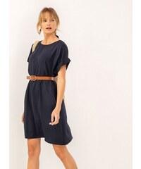 ee559b8349c7 The Fashion Project Oversize φόρεμα με τσέπες - Μπλε σκούρο - 07459023001