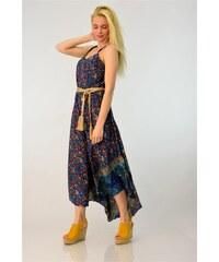 b7a8f5605280 Potre Μεταξωτό έθνικ φόρεμα