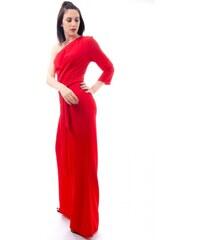 84c659ed4566 Ολόσωμη φόρμα Miss Pinky με ένα ώμο - ΚΟΚΚΙΝΟ 109-1080