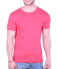 64efb22964ff OEM T-Shirt μονόχρωμο φούξια Φούξια