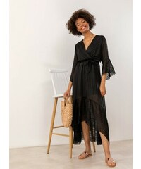 aa90041460a8 The Fashion Project Ασύμμετρο φόρεμα με μεταλλική κλωστή - Μαύρο -  07635002001