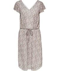 34ebb33aab08 Dina XL Midi βισκόζ φόρεμα με δέσιμο στα μανίκια - Glami.gr