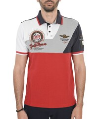 2faf687944 AERONAUTICA MILITARE POLO REGULAR FIT LOGO CEAW ΛΕΥΚΟ-ΓΚΡΙ-ΚΟΚΚΙΝΟ-ΜΠΛΕ