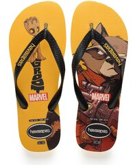 42b6ffa52c6 Havaianas Ανδρικές Σαγιονάρες Top Marvel Guardians of the Galaxy Banana  Yellow