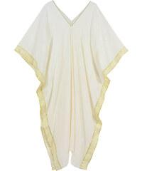 5adad34f244e Rock Club Couture Γυναικείο Λευκό Καφτάνι Φόρεμα (FB 771)