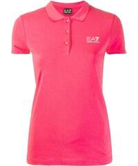 000c663ea3c2 Ea7 Emporio Armani embroidered logo polo top - Pink