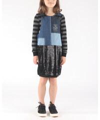 a4dcb379a3b Girls Diesel Dinas Kids dress Black Blue