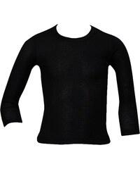 4b98a7977e0b Minerva Παιδική Ισοθερμική Αθλητική μπλούζα-φανέλα με Μακρύ Μανίκι Μαύρο