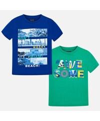 a56e4215fc8c Mayoral μπλούζα Πράσινο 29-06044-089 πράσινη-μπλε