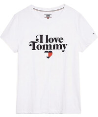07b6a7a252 TOMMY HILFIGER TOMMY JEANS Boxy Clean Logo Tee - Navy - dw0dw05455 ...