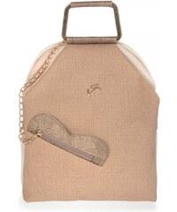 ac5fb221b9 Γυναικεία τσάντα σακίδιο Veta 634-4 σε μπεζ χρώμα έως 6 άτοκες δόσεις