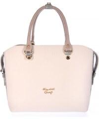 667f1c0a03 Γυναικεία τσάντα χεριού-ώμου Veta 817-13 Elizabeth George series σε μπεζ  χρώμα έως