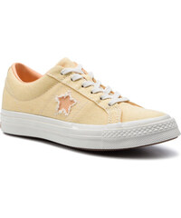 4dc7627b166 Πάνινα παπούτσια CONVERSE - One Star Ox 164358C Butter Yellow/Melon Baller