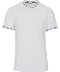 260401acd931 TOM TAILOR M POLO WITH STANDUPCO T-SHIRT - 1010355-20000 WHITE