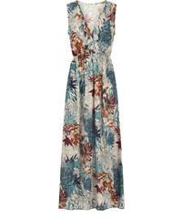 91531ca588f0 Celestino Εμπριμέ maxi φόρεμα με βολάν SE1539.8145+1