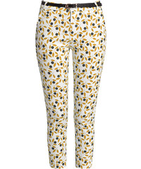 60f007670fc The Fashion Project Ελαστικό ψηλόμεσο εμπριμέ παντελόνι - Μουσταρδί ...