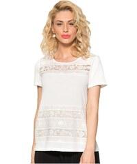 a8ee21ecf8fd RAXSTA Γυναικεία κρέμ κοντομάνικη μπλούζα