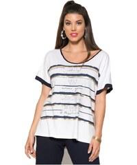 c08e9d899722 RAXSTA Γυναικεία ασπρόμαυρη μαρινιέρα μπλούζα